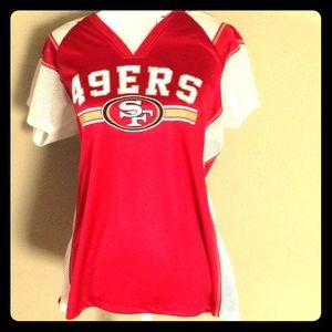 Women's 49ers jersey extra large